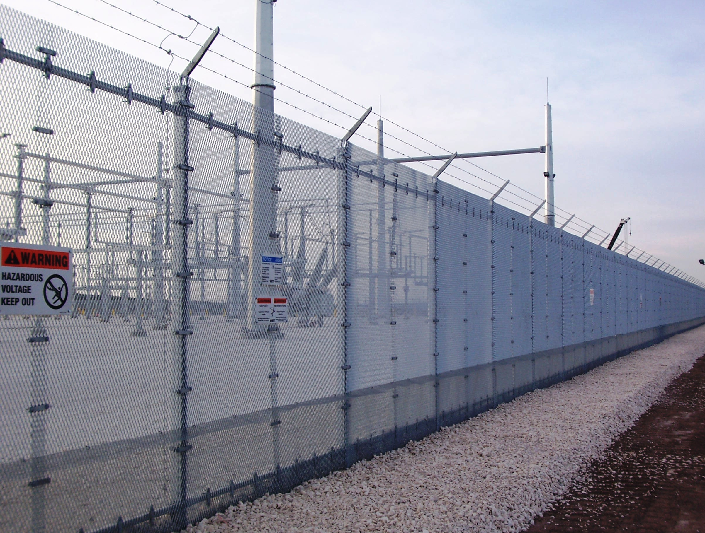 Super-C Expanded Metal Fencing