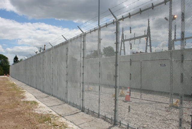 3/4 #9 Standard Expanded Metal High Security fence