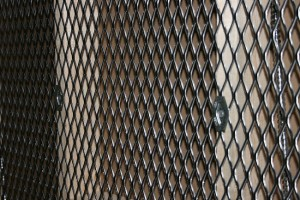 expanded metal security mesh, security clips