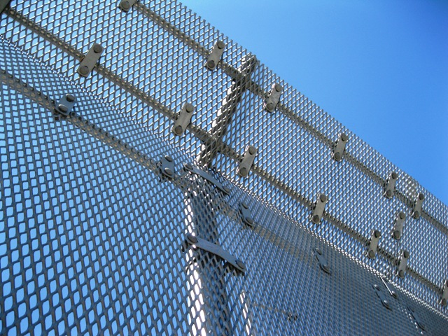 SECUREX High Security Expanded Metal Fence - Niles Fence |