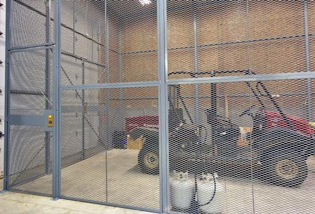 Sx 3000 Expanded Metal Security Cages Niles Fence